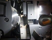 High precision Carbide-Tipped Circular Saw Machine royalty free stock photos