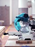 Tipped Circular Saw Machine stock photos