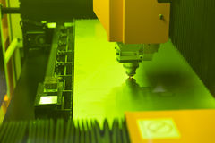 High precision CNC laser Stock Image