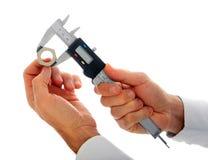 High precision digital caliper Royalty Free Stock Photography