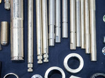 High precision maching and coating part for mold and die industr Royalty Free Stock Images