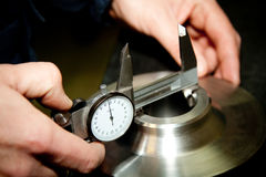 High precision measurement tool Royalty Free Stock Image