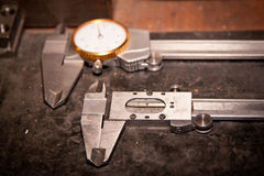 High precision measurement tools Royalty Free Stock Photo