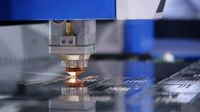 High Precision Robotics Weld Operation Closeup