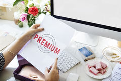 High Premium Quality Brand Concept Royalty Free Stock Photo