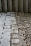 High Pressure Cleaning - 09. Outdoor floor cleaning with high pressure water jet Stock Photo