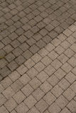 High Pressure Cleaning. Outdoor floor cleaning with high pressure water jet Stock Photography