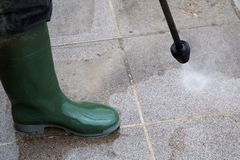 High Pressure Cleaning Stock Photos