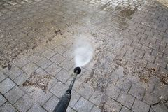 High Pressure Cleaning Royalty Free Stock Images