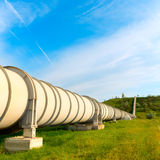 High pressure pipeline Stock Photos