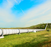 High pressure pipeline Royalty Free Stock Photos