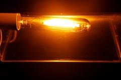 Free High Pressure Sodium Lamp HPS Orange Light Stock Image - 129089371