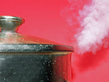 High Pressure Steaming Hot Pot Royalty Free Stock Photo