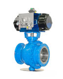 High pressure stop valves Stock Photos