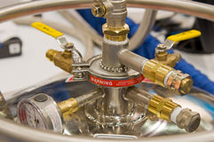 High pressure valve Royalty Free Stock Images