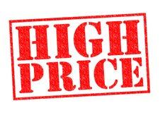 HIGH PRICE Stock Image