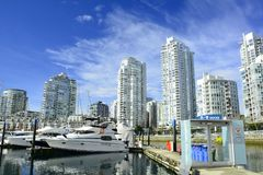 Yaletown,Vancouver BC,Urban living in luxury. Stock Image