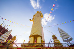 High priestess. Buddha bless the highest in the country. Maha Muni Buddha Rattanamongkol Pastor or a stamp stands majestically visible from a distance. A Royalty Free Stock Photography