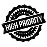 High priority stamp Royalty Free Stock Photo