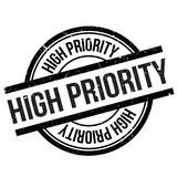 High priority stamp Stock Photography