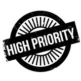 High priority stamp Stock Photo