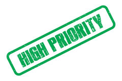High priority Royalty Free Stock Image