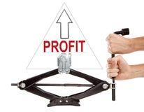High profit Stock Photo