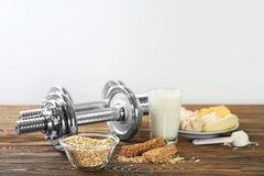 High protein food and powder