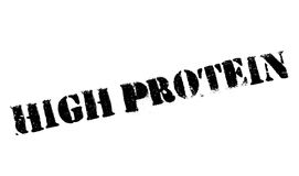 High Protein rubber stamp Royalty Free Stock Photo
