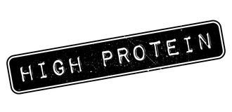 High Protein rubber stamp Royalty Free Stock Photos