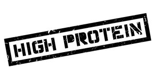 High Protein rubber stamp Stock Images
