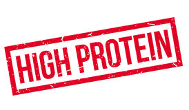 High Protein rubber stamp Stock Image