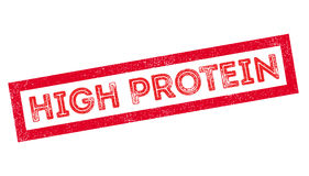 High Protein rubber stamp Stock Photography