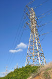 High pylon. Royalty Free Stock Images