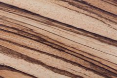 High quality African Zebrano wood texture. Hi res photo stock image