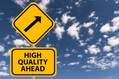 High quality ahead sign Stock Photos