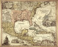 High Quality Antique Map Royalty Free Stock Images