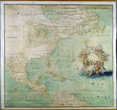 High-Quality Antique Map Royalty Free Stock Photo