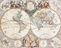 High-Quality Antique Map Stock Images