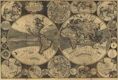 High-Quality Antique Map. High Quality Antique Map Series Royalty Free Stock Image