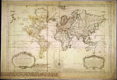 High-Quality Antique Map Stock Photo