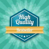 High quality badge - Bestseller Stock Images