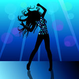 High quality Beautiful Girl dance dress party Royalty Free Stock Images