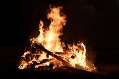 High quality bonfire. Simple bonfire Stock Image