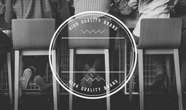 High Quality Brand Marketing Business Branding Copy Space Concept. High Quality Brand Marketing Business Branding Copy Space royalty free stock image