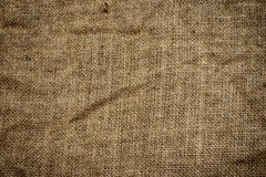 High quality burlap background Royalty Free Stock Images