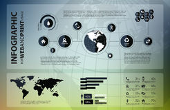 High quality business infographic Stock Photo