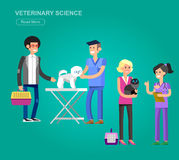 high quality character design veterinarian Royalty Free Stock Photography