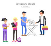 high quality character design veterinarian Stock Image