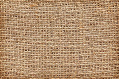 High quality close up picture of natural jute fabric Stock Images